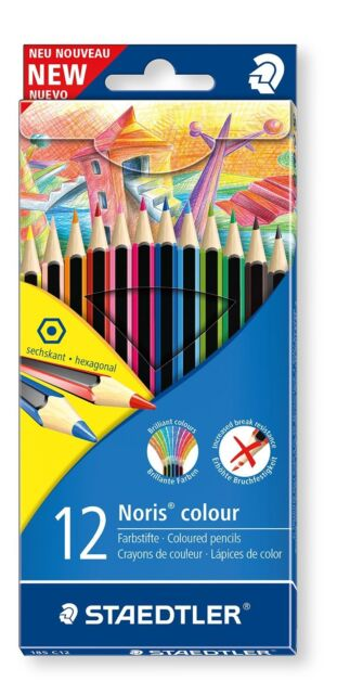 Staedtler Noris colour 185 C12 Colouring Pencil - Assorted Pack of 12