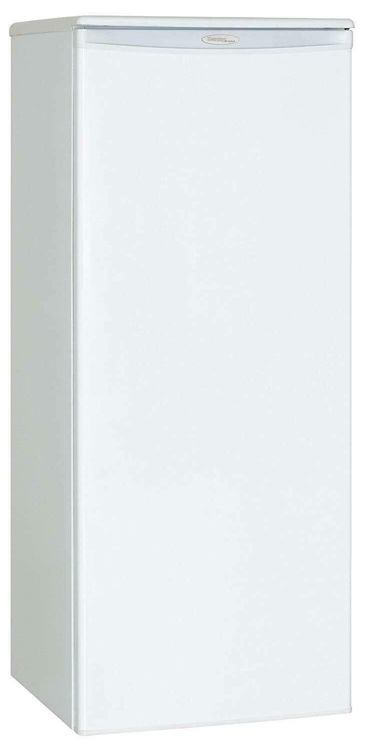 Danby DUFM085A2WDD1 Upright Freezer, 8.5 Cubic Feet, White -