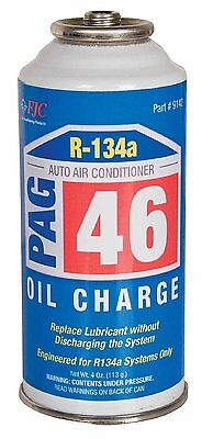 6 CANS of FJC 9142 PAG Oil Charge - 4 oz. each