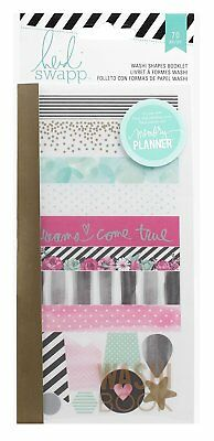 Beautiful Shapes - Heidi Swapp Hello Beautiful Washi Shapes Booklet