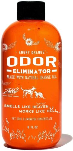 Angry Orange Pet Odor Eliminator for Dog and Cat Urine, Makes 1 Gallon, NEW
