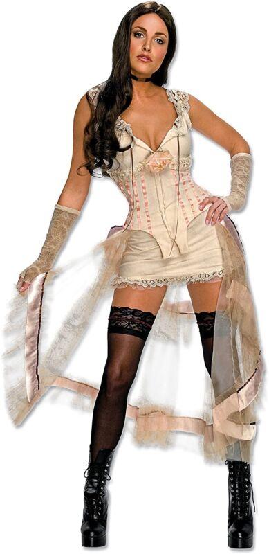 Secret Wishes Jonah Hex Lilah Womens Halloween Costume Dress Size L New