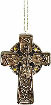 Abbey Press Trade St. Patrick Cross Ornament and Card | Wall Décor Inspirational