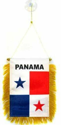 Panama  Mini Banner Flag For Car & Home Window Mirror Hanging 2 Sided