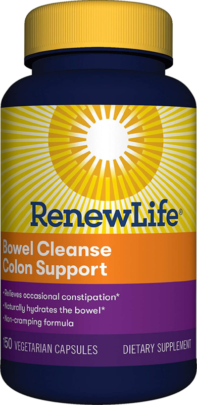 Renew Life  Cleanse - Bowel Cleanse Colon Support, Constipat