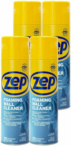 Zep Foaming Wall Cleaner 18 Oz ZUFWC18 (Case of 4) Cleans Without Damaging Walls