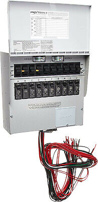 Reliance Controls 310crk 10 Circuit Transfer Switch For Generator