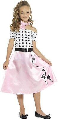 Mädchen Klassisch 50er Jahre 1950er Jahre Pudel Rock Bonbon Tv - Rosa Pudel Rock 50er Jahre Kostüm