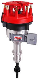 MSD 8456CR Pro-Billet Distributor, Ford 5.0L EFI 86-93 (FR)
