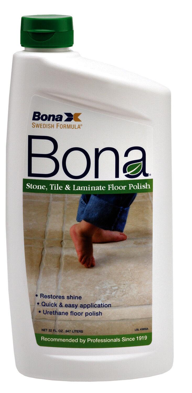 Bona Wp511059001 Stone Tile Laminate Floor Polish 36 Oz Ebay