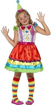 Mädchen Hell Deluxe Clown Zirkus Karneval Kostüm Verkleidung - Deluxe Zirkus Clown Kostüme