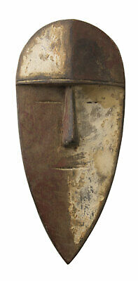 Mask Passport African Robert Aduma Gabon Wood 17cm Art First 16683