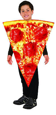 Kids Pizza Costume (Forum Novelties Childrens Pizza Slice Foam Tunic)