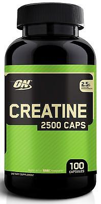 Optimum Nutrition Creatine Monohydrate 2500 mg (100 Capsules)