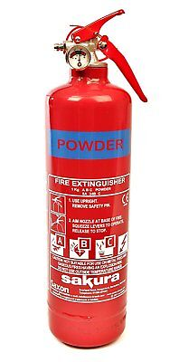 Sakura 1KG Powder Fire Extinguisher For Home Office Car Kitchen