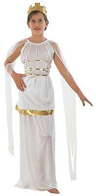 Mädchen Griechisch Römische Toga Schule Grichischer Büchertag Kostüm Kleid