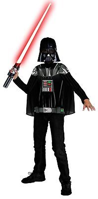 Halloween Costumes For Boys Age 4 (Star Wars Darth Vader Boys Kids Halloween Party Costume, Ages)