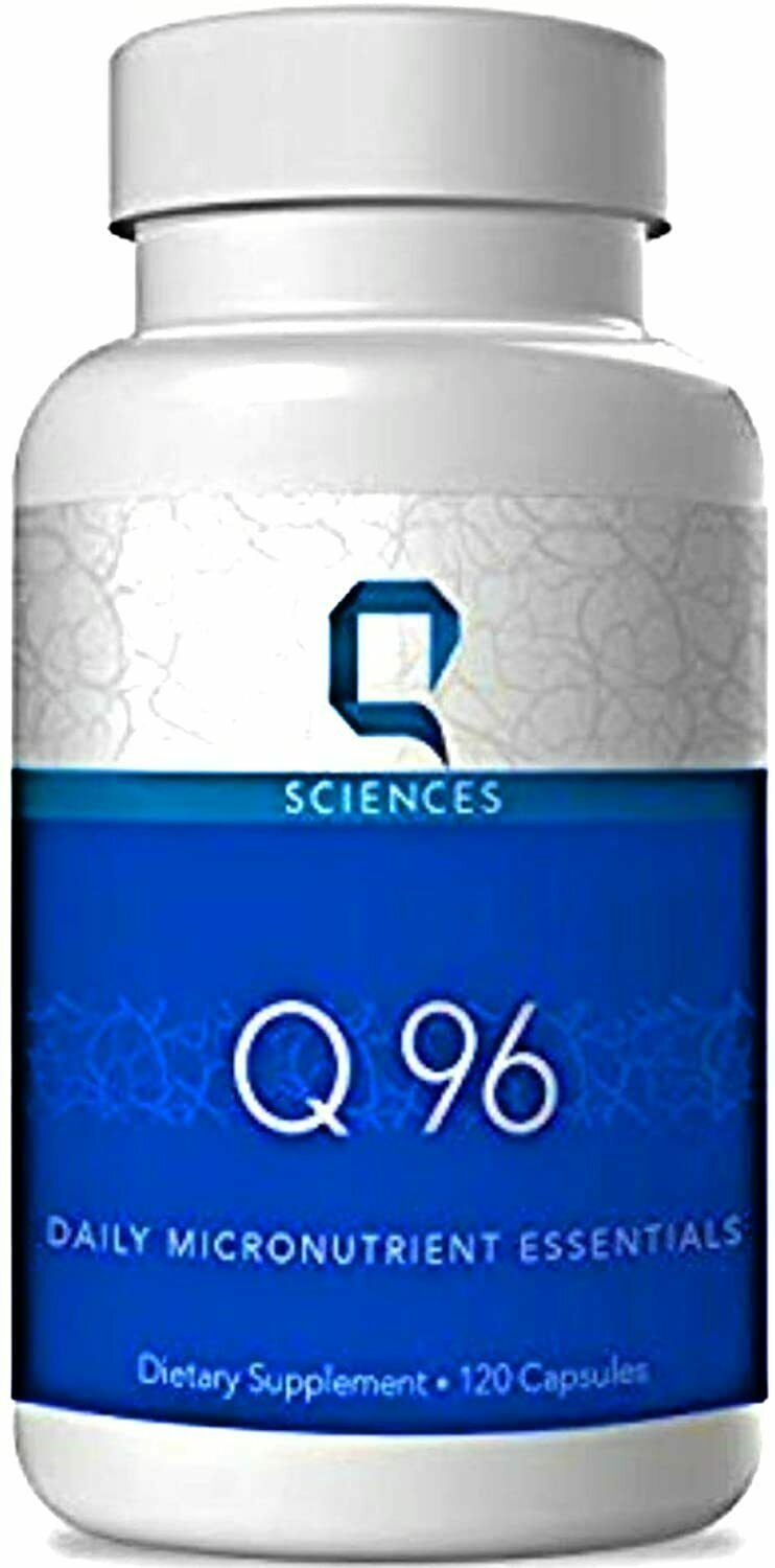 Q Sciences Q 96 Micronutrient formula for the brain and central nervous system.