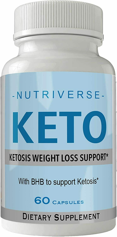 Nutriverse Keto Diet Pills Advanced Energy Ketones Purple