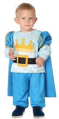 Baby Kleinkind Jungen Blau Königsblau Prinz TV Buch Film Kostüm Kleid - Kleinkind Jungen Prinzen Kostüm