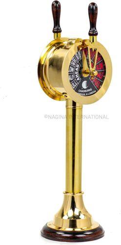 Telegraph Chadburn Nautical Maritime with Functional Bell | Gifts & Decor 14