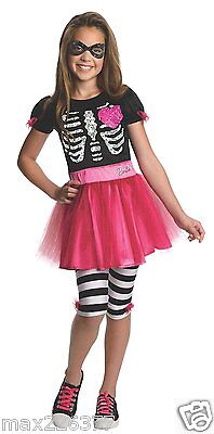 new Rubies skull ZOMBIE Barbie halloween Costume Child TODDLER 2-4 yrs](Toddler Zombie Costumes)