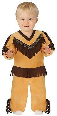 Baby Kleinkind Jungen Indianer Wilder Westen Kostüm Kleid Outfit 6-24 Monate