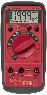 Amprobe Compact Digital Multimeter With Non-contact Voltage Indicator And...