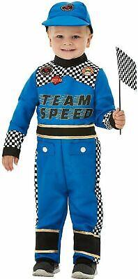 Toddler Boys Racer Costume Race Car Driver Suit Child Kids Halloween 2T 3T 4T
