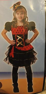 PIRATE COSTUME FOR LITTLE GIRLS -M - Little Girls Pirate Costumes