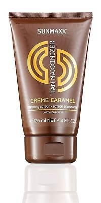 Sunmaxx Tan Maxximizer Creme Caramel Tanning Lotion 125 ml