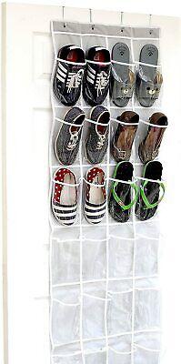 Over The Door Shoe Organizer Rack Hanging Storage Holder