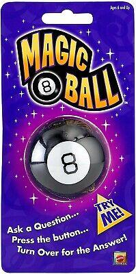 Mattel MINI Magic 8 Ball PUSH THE BUTTON FOR YOUR ANSWER Games Mini Button