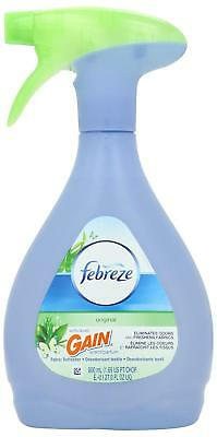 Febreze Fabric Refresher with Gain Original Scent, 27-Ounce (Pack of 3)