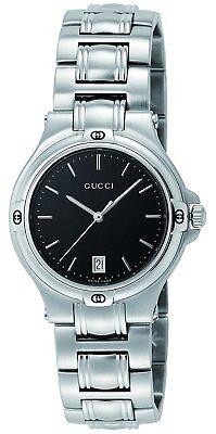 GUCCI Quartz 9045 Black Dial Men