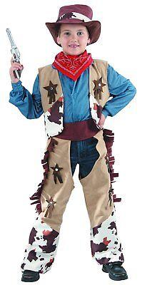 Cowboy Kostüm Kinder - komplettes elegantes Western Kostüm für Jungen - Cowboy Kostüm Für Jungen