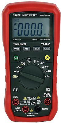 Tekpower Tp8268 Ac Dc Auto Range Digital Multimeter Ohm Volt