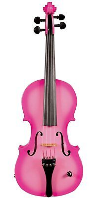 Barcus Berry Vibrato-AE Series BAR-AEP Acoustic-Electric Violin (Passion Pink)