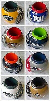 NFL Team Logo Helmet Drinking Cup Mug - 25 Teams