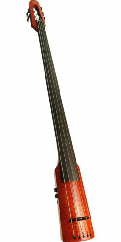 NS Design WAV Series 5-String Upright Electric Bass Amber Burst