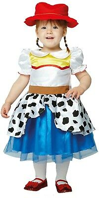 Baby Girls Toddlers Jessie Toy Story Cowgirl Film Book Day Fancy Dress - Baby Girl Cowgirl Outfits