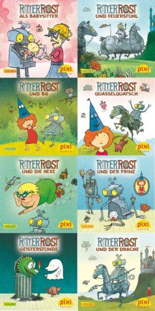 Pixi Bücher Ritter Rost Serie 222 + BONUS