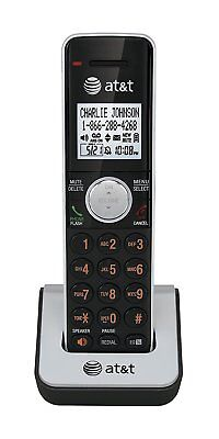 AT&T CL80111 DECT 6.0 Cordless Accessory Handset Phone, Black/Silver