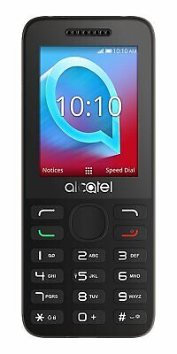 Brand New Alcatel 2038X - 3G Mobile Phone / Grey / Unlocked to All UK Networks
