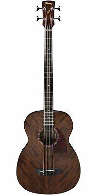 Ibanez PCBE12MHOPN 4-String Acoustic Bass Guitar, Open Pore Natural