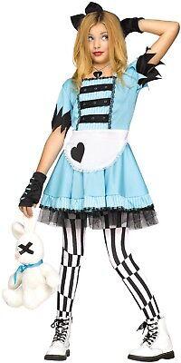 Mädchen Teen Wild Wunderland Alice Halloween Kostüm Kleid Outfit 7-14 Jahre