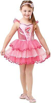 Mädchen Deluxe Pinkie Pie My Little Pony Film Büchertag Kostüm Kleid Outfit