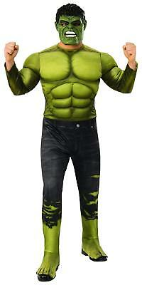Hulk Avengers Infinity War Marvel Fancy Dress Up Halloween Deluxe Adult Costume