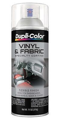 Duplicolor HVP115 CLEAR Vinyl & Fabric Coating Spray Dashboard Seat Carpet Panel Clear Vinyl Panels