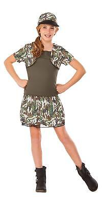 Army Girls Costume (Rubies Young American Heroes 'Army Brat' Girls Child Costume Size Small)